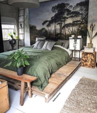 Modern Style For Industrial Bedroom Design Ideas 44