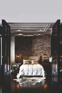 Modern Style For Industrial Bedroom Design Ideas 47