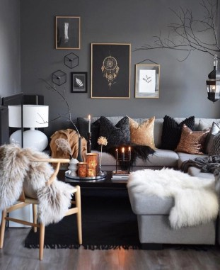 Outstanding Winter Decoration Ideas For Your Apartment 43