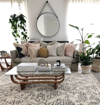 Pretty House Plants Ideas For Living Room Decoration 24