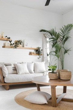 Pretty House Plants Ideas For Living Room Decoration 26