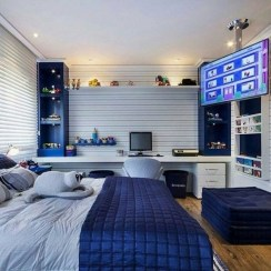 Adorable Teenage Boy Room Decor Ideas For You 10