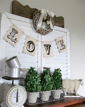 Affordable Valentine's Day Shabby Chic Decorations On A Budget 16