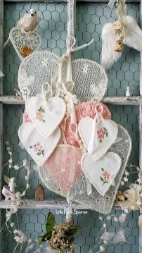 Affordable Valentine's Day Shabby Chic Decorations On A Budget 49