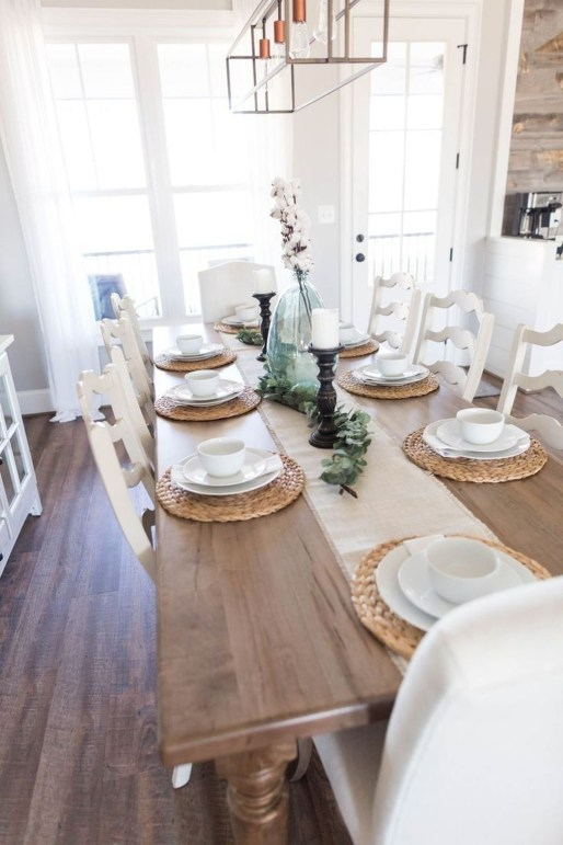 Amazing Small Dining Room Table Decor Ideas To Copy Asap 50