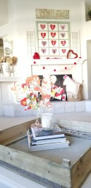 Best Valentines Day Mantel Decor Ideas That You Will Falling In Love With 08