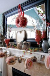 Best Valentines Day Mantel Decor Ideas That You Will Falling In Love With 13