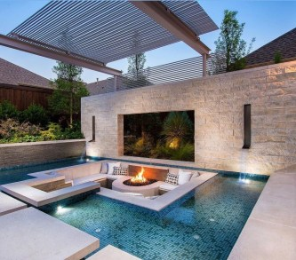 Comfy Pool Seating Ideas For Your Outdoor Decoration 19
