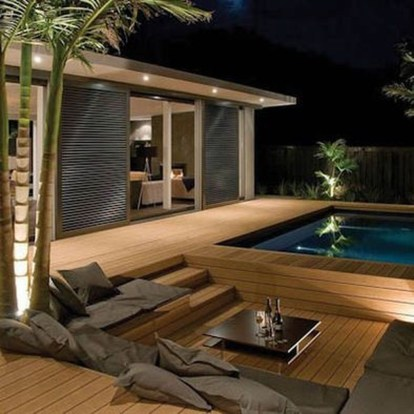 Comfy Pool Seating Ideas For Your Outdoor Decoration 29