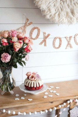Creative DIY Valentines Day Decoration Ideas To Beautify Your Home 25