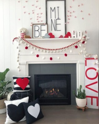 Creative DIY Valentines Day Decoration Ideas To Beautify Your Home 27