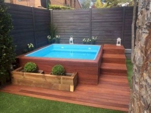 Extraordinary Small Pool Design Ideas For Small Backyard 04