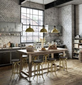 Fabulous Industrial Loft Make Over Ideas For Trendy Home 16