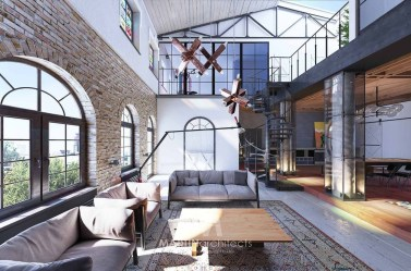 Fabulous Industrial Loft Make Over Ideas For Trendy Home 32