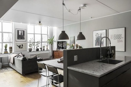 Fabulous Industrial Loft Make Over Ideas For Trendy Home 45