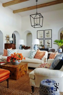 Gorgeous Bohemian Farmhouse Decorating Ideas For Your Living Room 16