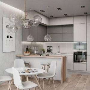 Gorgeous Small Kitchen Design Ideas For Your Small Home 14