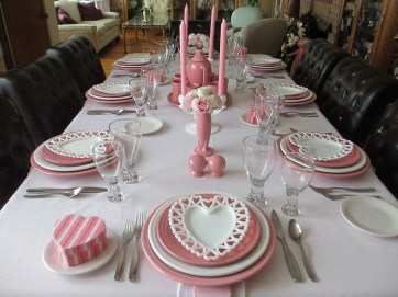 Magnificent Dining Room Decorating Ideas For Valentine's Day 03