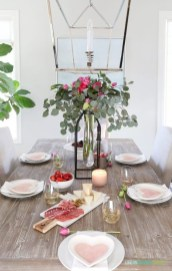 Magnificent Dining Room Decorating Ideas For Valentine's Day 04