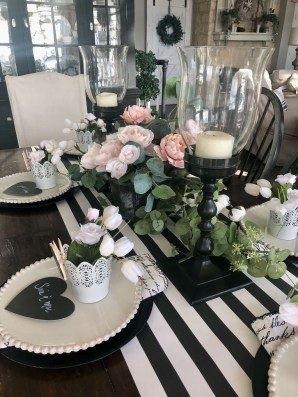 Magnificent Dining Room Decorating Ideas For Valentine's Day 21