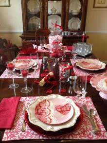 Magnificent Dining Room Decorating Ideas For Valentine's Day 24