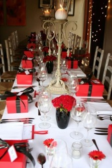 Magnificent Dining Room Decorating Ideas For Valentine's Day 49
