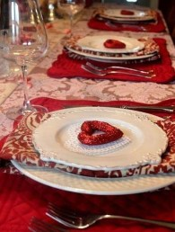 Most Inspiring Valentine's Day Simple Table Decoration Ideas 38