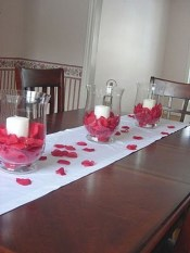 Perfect Valentine's Day Romantic Dining Table Decor Ideas For Two People 30