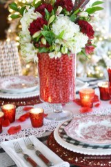 Perfect Valentine's Day Romantic Dining Table Decor Ideas For Two People 35