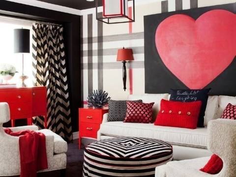 Romantic Valentine Decoration Ideas For Your Living Room 03