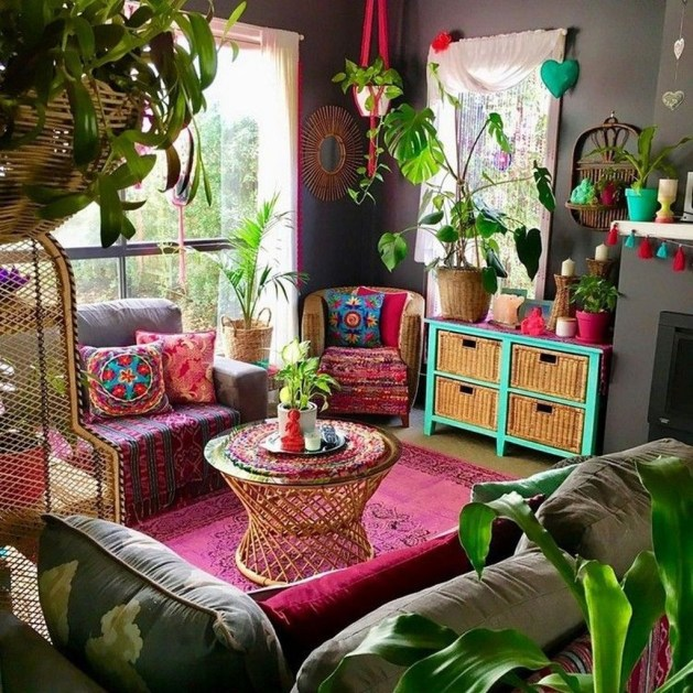Trendy Bohemian Style Decoration Ideas For You To Try 46