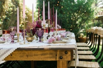 Unordinary Valentine Outdoor Decorations Table Settings For Couple 28