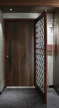 Artistic Wooden Door Design Ideas To Try Right Now 07
