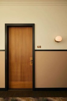 Artistic Wooden Door Design Ideas To Try Right Now 12