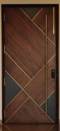 Artistic Wooden Door Design Ideas To Try Right Now 16