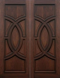 Artistic Wooden Door Design Ideas To Try Right Now 30