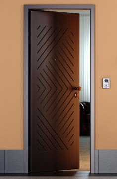 Artistic Wooden Door Design Ideas To Try Right Now 33