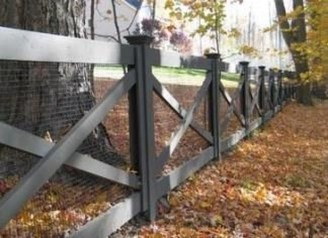 Awesome Farmhouse Garden Fence For Winter To Spring 02