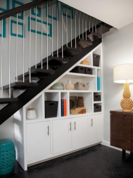 Brilliant Storage Ideas For Under Stairs To Try Asap 32