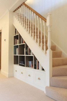 Brilliant Storage Ideas For Under Stairs To Try Asap 43