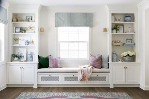 Comfy Window Seat Ideas For A Cozy Home 41