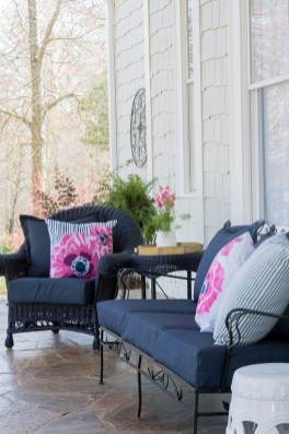 Cute Spring Porch Pillow Decoration Ideas That Will Inspire You 12