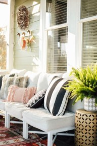 Cute Spring Porch Pillow Decoration Ideas That Will Inspire You 26
