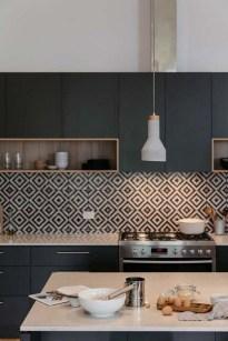 Delicate Black Kitchen Interior Design Ideas For Kitchen To Have Asap 02