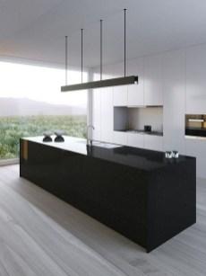 Delicate Black Kitchen Interior Design Ideas For Kitchen To Have Asap 04