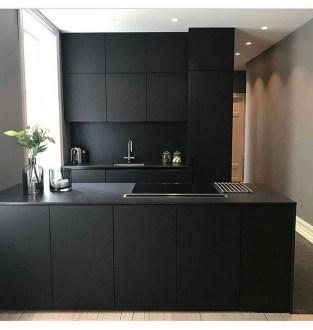 Delicate Black Kitchen Interior Design Ideas For Kitchen To Have Asap 18