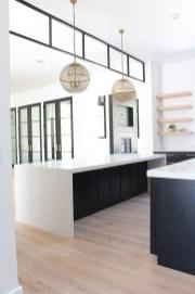 Delicate Black Kitchen Interior Design Ideas For Kitchen To Have Asap 20