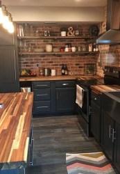 Delicate Black Kitchen Interior Design Ideas For Kitchen To Have Asap 28