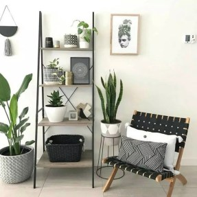Easy And Simple Shelves Decoration Ideas For Living Room Storage 19