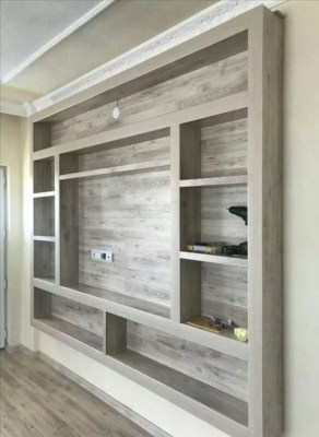 Easy And Simple Shelves Decoration Ideas For Living Room Storage 33